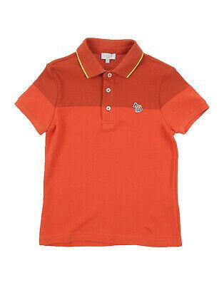 RRP €135 PAUL SMITH JUNIOR Polo Shirt Size 6Y Pique Cotton Short Sleeve