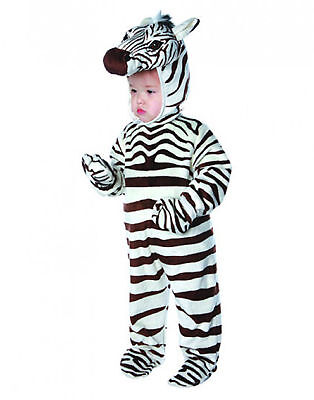 Zebra Stripe Baby Animal Safari Toddler Halloween Costume - Safari Animal Halloween Costume