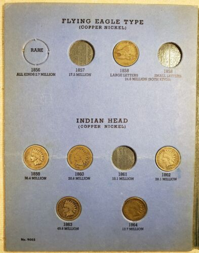 Indian Cent Collection - 36 Coins