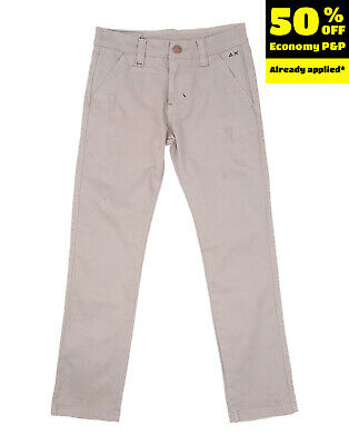 SUN68 Chino Trousers Size 8Y Distressed Style