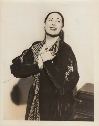 Renata Tebaldi Photo Original Press Photo Metropolitan Opera CBS 1960 Plus 3