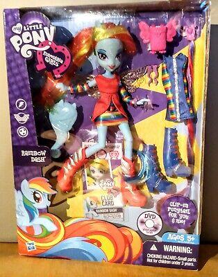 Hasbro My Little Pony Equestria Girls Rainbow Dash Doll New in Box 2012 VTG MIB