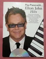 Spartito Elton John Hits +cd - Pianoforte -  - ebay.it
