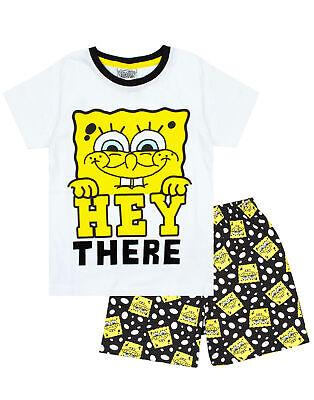 Spongebob Squarepants Boy's Short Cotton Pyjamas Combo