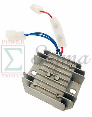 Voltage Regulator Charging Rectifier Avr For Yanmar L100 10hp 186f Diesel Engine