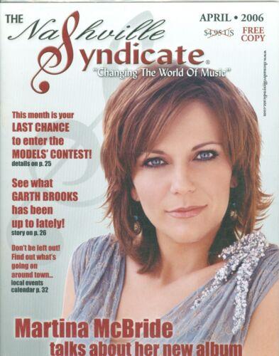 Martina McBride cover The Nashville Syndicate magazine NEW MINT