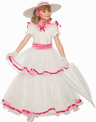 Girls Southern Belle Costume Size Large 12-14 (Girls Southern Belle Dresses)