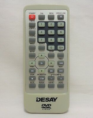 Desay D001 Factory Original DVD Player Remote Contro For DS5701, DS501, DSN808B