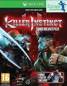 Killer Instinct Combo Breaker Pack Xbox One Game New and Sealed Official PAL UK