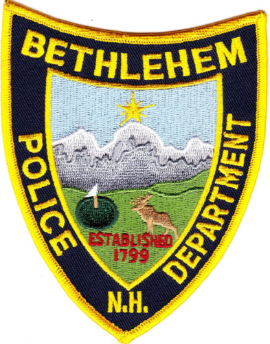 Bethlehem Police Department Police Patch New Hampshire NH