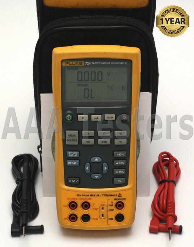 Fluke 724 Temperature Calibrator Fluke724