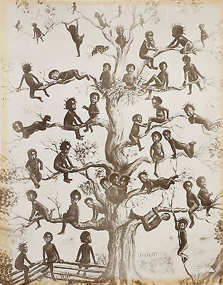"Black Americana Artwork Poster Print ""BLACKBIRDS"" by W.F.Bell 1909 [DigitalCopy]"