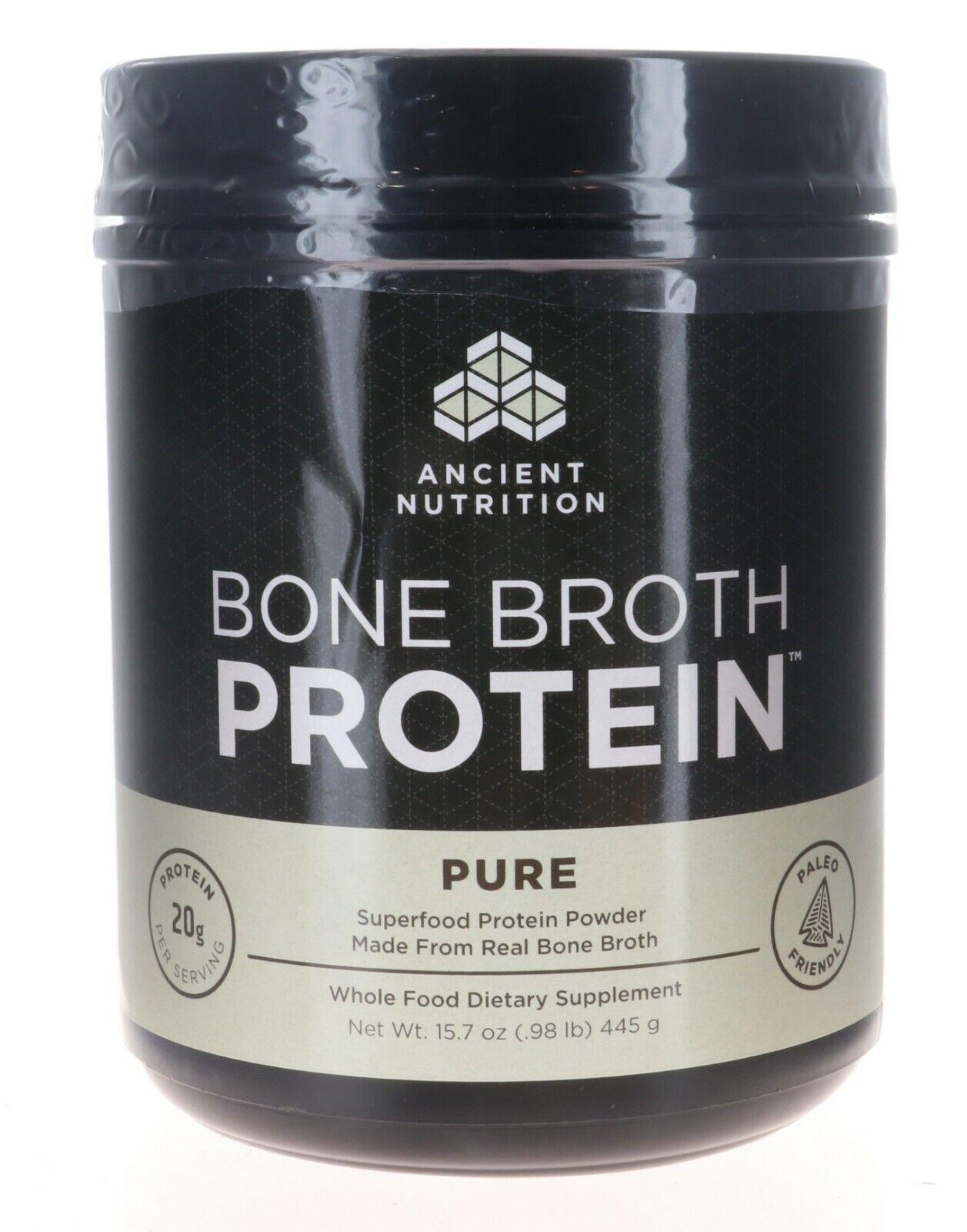 Ancient Nutrition Bone Broth Protein Powder Bundle Pack - Pu
