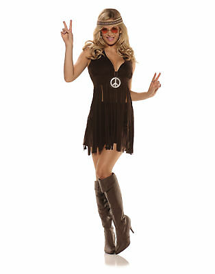 Sunshine Sexy 70'S Hippie Adult Womens Halloween Costume - 70's Womens Halloween Costume