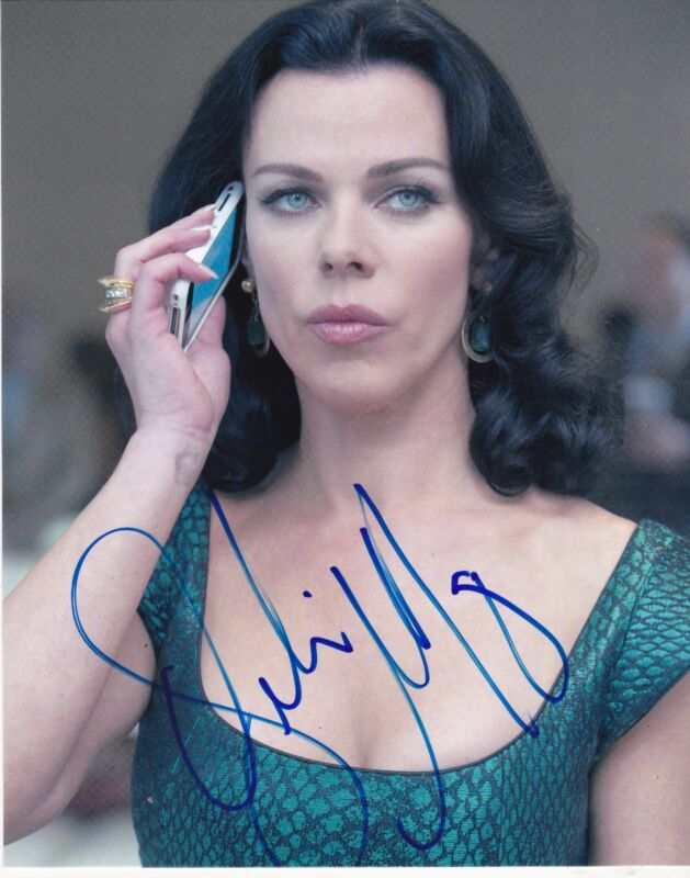 DEBI MAZAR SIGNED 8X10 PHOTO AUTHENTIC AUTOGRAPH ENTOURAGE YOUNGER COA