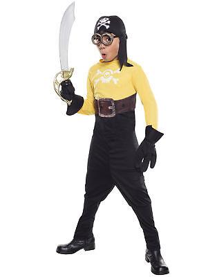 Minion Kid Costume (Minions Movie Kids Pirate Minion Halloween)