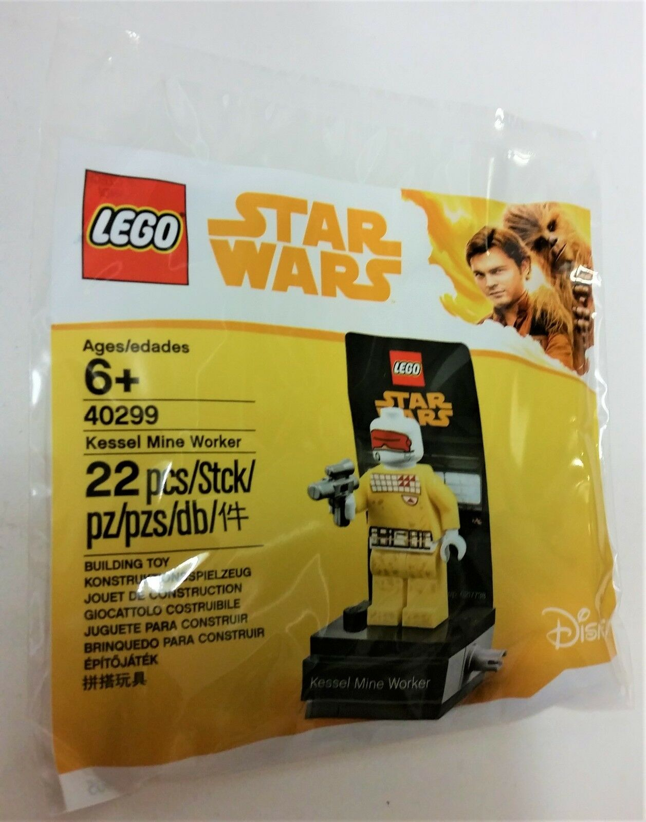 LEGO DISNEY STAR WARS KESSEL MINE WORKER 40299