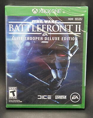 Star Wars: Battlefront II 2 Elite Trooper Deluxe Edition (Xbox One, 2017) NEW