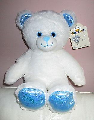 ★☆ BUILD A BEAR White Snow Bear / Bär, limitiert, NEU !!! ☆★