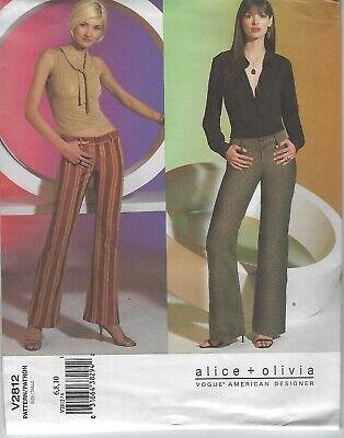 Vogue Pattern 2812 - alice + olivia - (Vogue Vogue)