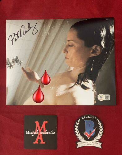 KATE NORBY AUTOGRAPHED SIGNED NUDE 8x10 PHOTO! THE DEVIL'S REJECTS! BECKETT!