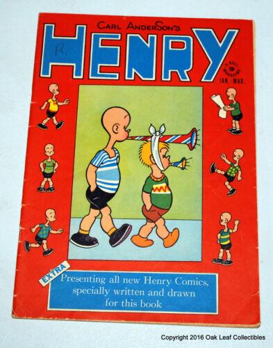 Henry 1 Dell Comic Book 1948 VG-Fine  RARE!
