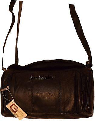 Schwarz Leder Tasche-tag (Neuer Stil Damen Lederhandtasche Ledertasche Tag Tasche Buch Mode Neu)