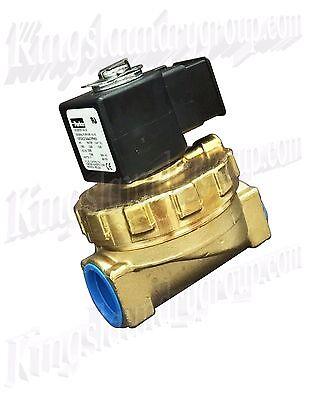 Parker Brass Water Valve 34 Inch 110v For Unimac Washers F381700 F8521901