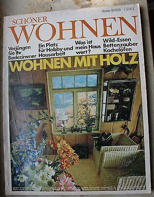 Schöner Wohnen  Zeitschrift  Oktober 10 1970