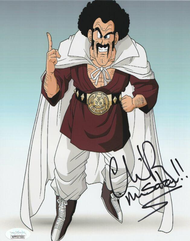 Chris Rager Autograph 8x10 Photo Dragon Ball Z Mr Satan Signed JSA COA