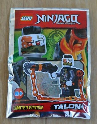 Lego® Ninjago™ Limited Edition Minifigur Talon Neu & OVP 2018 ()