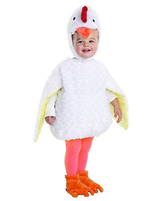 Weiß Henne Huhn Chick Tier Bauch Babys Kleinkind - Huhn Kleinkind Kostüm