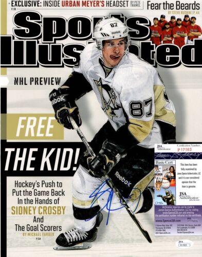 Sidney Crosby Signed 11x14 Photo w/ JSA COA #P17003 Pittsburgh Penguins