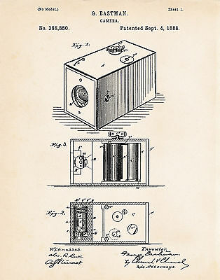 Best Gifts Presents For Photographers Camera Gift Ideas 1888 Patent Art