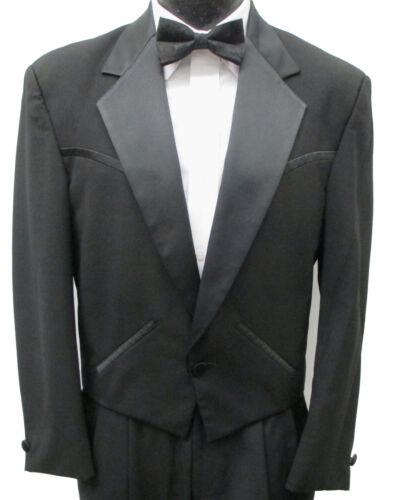 Black Sundance Western Tuxedo Jacket Waistcoat Formal Wedding Cowboy Butler