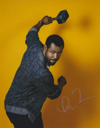 Isaiah Mustafa Signed Shadowhunters 10x8 Photo AFTAL