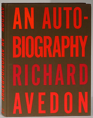 An Autobiography by Richard Avedon 1993 first edition fashion celebrities