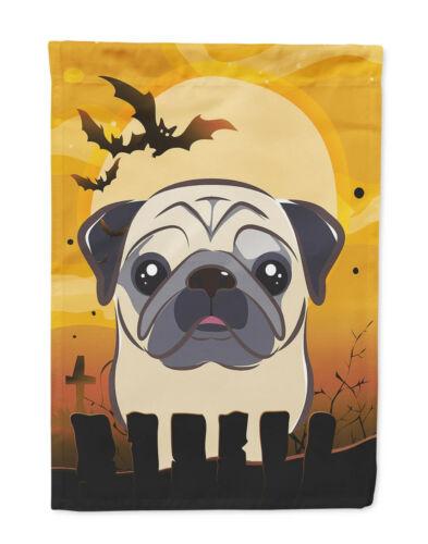 Pug Halloween Garden Flag