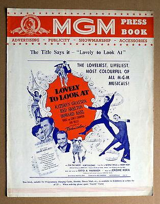 LOVELY TO LOOK AT * SKELTON - UK-Werberatschlag - UK-PRESS BOOK ENGLISH 1952