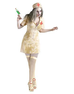 Zombie Nurse Doctor Horror Adult Womens Halloween Costume