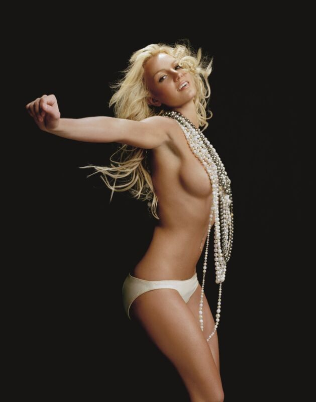Britney Spears Unsigned 8x10 Photo (11)