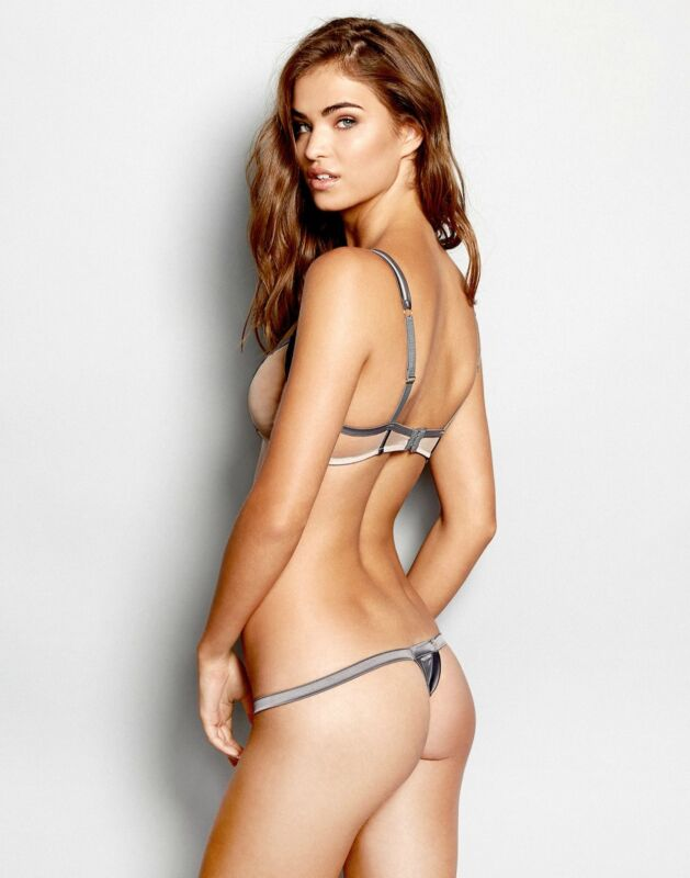 Robin Holzken Posing In Lingerie 8x10 Photo Print