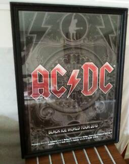 AC / DC Glass Framed Posters Broadbeach Waters Gold Coast City Preview