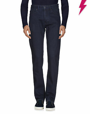 RRP €120 ETUDES Jeans Size 30 Blue Garment Dye Button Fly Made in Portugal