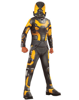 Gelb Jacke Marvel Ameise Man Bösewicht Jungen Halloween Kostüm