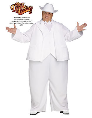 Boss Hogg White Suit The Dukes Of Hazzard Adult Mens Halloween Costume