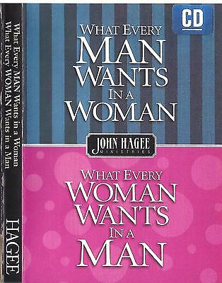 Used, What Every Man Wants in a Woman What every Woman Wants Sermon - 4 Cds John Hagee for sale  Shipping to India