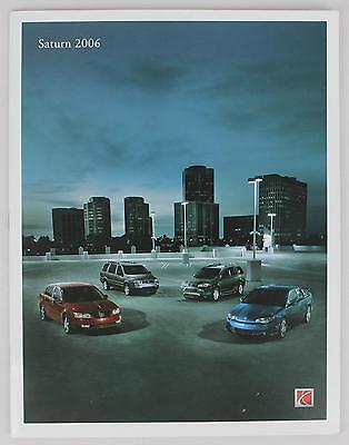 Saturn 2006 Sales Brochure / Literature