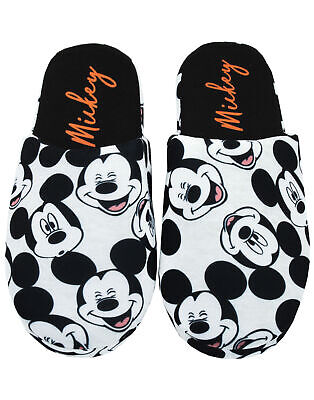 Disney Mickey Mouse All Over Print Women's/Ladies Slip-On Slippers