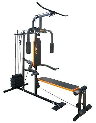 V-fit Herculean LFG2 Lay Flat Home Multi Gym - r.r.p £330.00